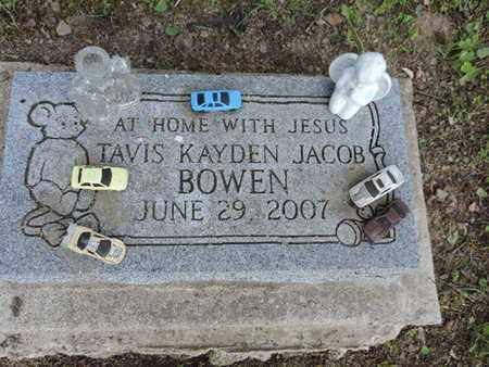 BOWEN, TAVIS KAYDEN JACO - Pike County, Ohio | TAVIS KAYDEN JACO BOWEN - Ohio Gravestone Photos