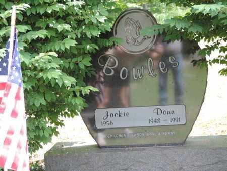 BOWLES, JACKIE - Pike County, Ohio   JACKIE BOWLES - Ohio Gravestone Photos