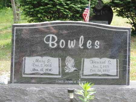 BOWLES, MARY E. - Pike County, Ohio | MARY E. BOWLES - Ohio Gravestone Photos