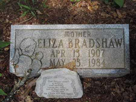 BRADSHAW, ELIZA - Pike County, Ohio | ELIZA BRADSHAW - Ohio Gravestone Photos