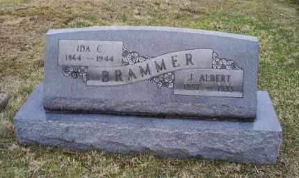 BRAMMER, J. ALBERT - Pike County, Ohio   J. ALBERT BRAMMER - Ohio Gravestone Photos