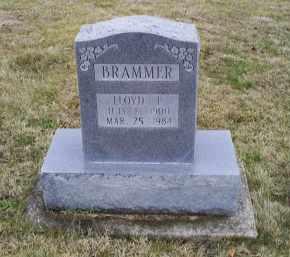 BRAMMER, LLOYD F. - Pike County, Ohio | LLOYD F. BRAMMER - Ohio Gravestone Photos