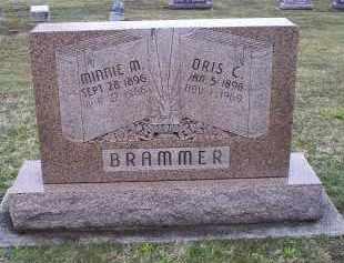 BRAMMER, ORIS C. - Pike County, Ohio | ORIS C. BRAMMER - Ohio Gravestone Photos