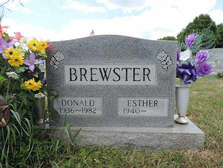 BREWSTER, ESTHER - Pike County, Ohio | ESTHER BREWSTER - Ohio Gravestone Photos