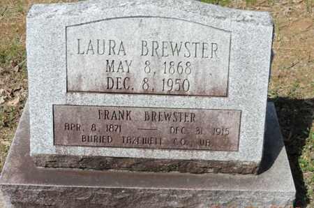 BREWSTER, LAURA - Pike County, Ohio | LAURA BREWSTER - Ohio Gravestone Photos