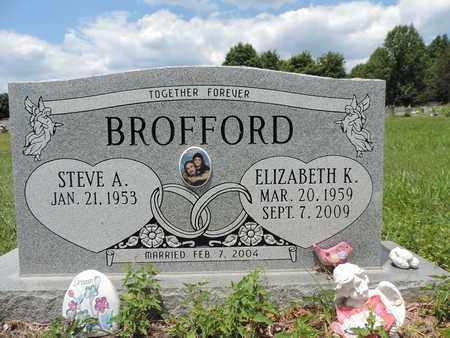 BROFFORD, STEVE A. - Pike County, Ohio | STEVE A. BROFFORD - Ohio Gravestone Photos