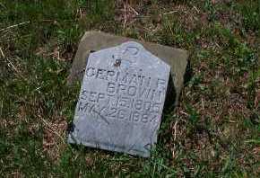 BROWN, GERMAN PETER - Pike County, Ohio | GERMAN PETER BROWN - Ohio Gravestone Photos