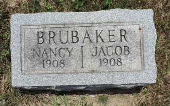 BRUBAKER, JACOB - Pike County, Ohio | JACOB BRUBAKER - Ohio Gravestone Photos