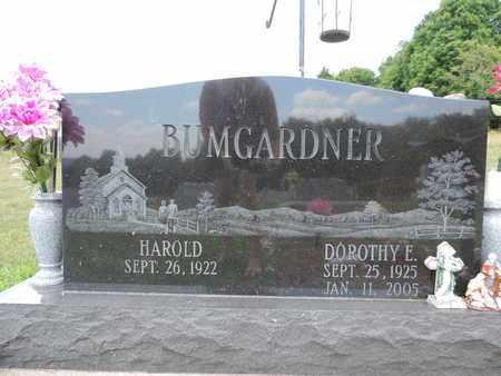 BUMGARDNER, HAROLD - Pike County, Ohio | HAROLD BUMGARDNER - Ohio Gravestone Photos