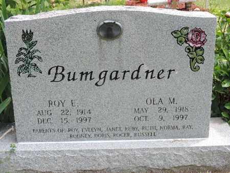 BUMGARDNER, OLA M. - Pike County, Ohio | OLA M. BUMGARDNER - Ohio Gravestone Photos