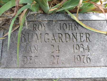 BUMGARDNER, ROY JOHN - Pike County, Ohio   ROY JOHN BUMGARDNER - Ohio Gravestone Photos