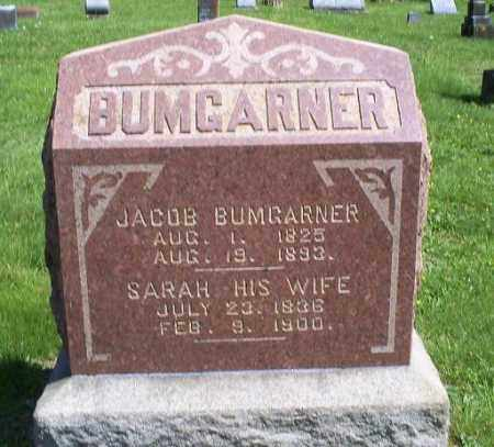 BUMGARNER, JACOB - Pike County, Ohio | JACOB BUMGARNER - Ohio Gravestone Photos