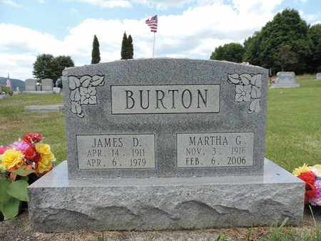 BURTON, JAMES D. - Pike County, Ohio | JAMES D. BURTON - Ohio Gravestone Photos
