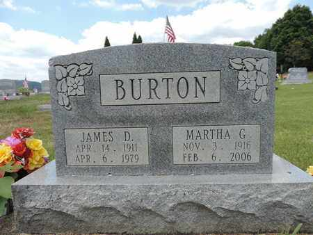 BURTON, JAMES D. - Pike County, Ohio | JAMES D. BURTON - Ohio Gravestone Photos