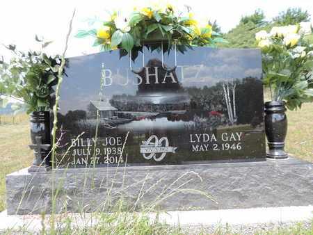 BUSHATZ, LYDA GAY - Pike County, Ohio | LYDA GAY BUSHATZ - Ohio Gravestone Photos