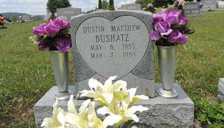 BUSHATZ, DUSTIN MATTHEW - Pike County, Ohio | DUSTIN MATTHEW BUSHATZ - Ohio Gravestone Photos