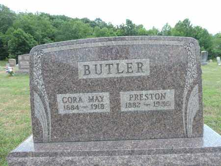 BUTLER, CORA MAY - Pike County, Ohio | CORA MAY BUTLER - Ohio Gravestone Photos
