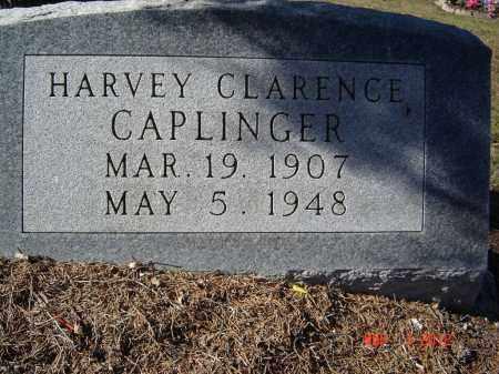 CAPLINGER, HARVEY CLARENCE - Pike County, Ohio | HARVEY CLARENCE CAPLINGER - Ohio Gravestone Photos