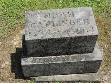 CAPLINGER, NOAH - Pike County, Ohio   NOAH CAPLINGER - Ohio Gravestone Photos