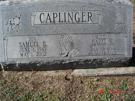 CAPLINGER, SAMUEL H - Pike County, Ohio | SAMUEL H CAPLINGER - Ohio Gravestone Photos