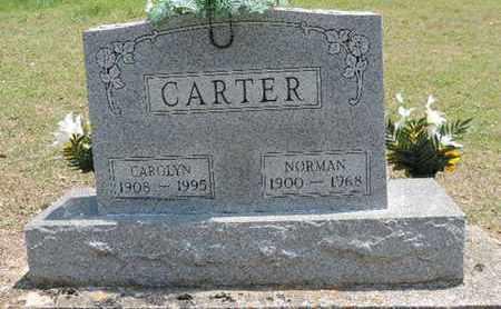 CARTER, NORMAN - Pike County, Ohio   NORMAN CARTER - Ohio Gravestone Photos