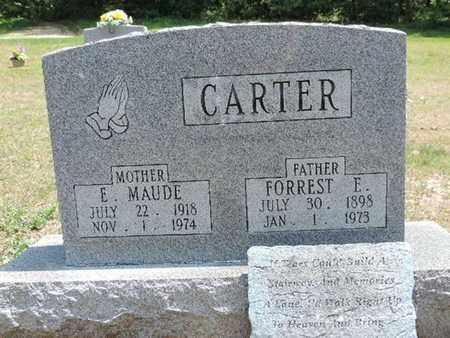 CARTER, E. MAUDE - Pike County, Ohio | E. MAUDE CARTER - Ohio Gravestone Photos