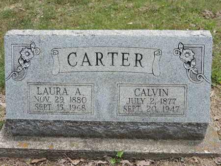 CARTER, LAURA A. - Pike County, Ohio   LAURA A. CARTER - Ohio Gravestone Photos