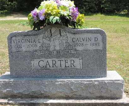 CARTER, CALVIN D. - Pike County, Ohio | CALVIN D. CARTER - Ohio Gravestone Photos