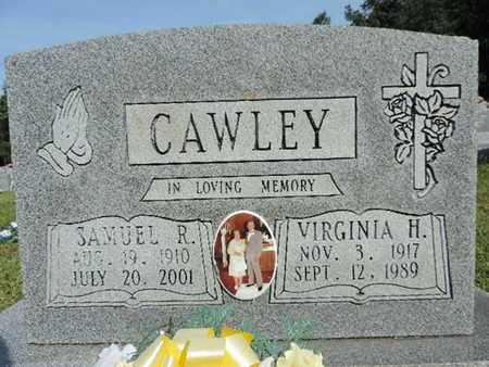 CAWLEY, VIRGINIA H. - Pike County, Ohio | VIRGINIA H. CAWLEY - Ohio Gravestone Photos