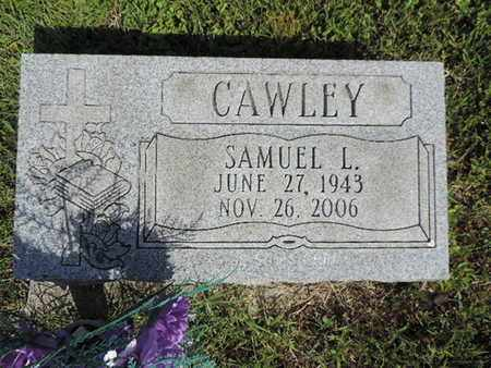 CAWLEY, SAMUEL L. - Pike County, Ohio   SAMUEL L. CAWLEY - Ohio Gravestone Photos