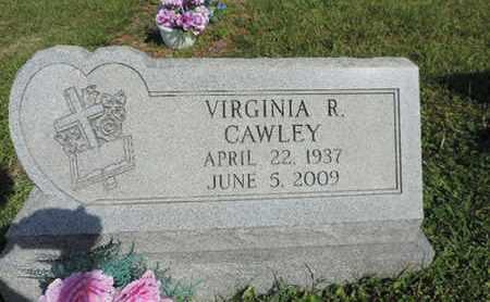 CAWLEY, VIRGINIA R. - Pike County, Ohio | VIRGINIA R. CAWLEY - Ohio Gravestone Photos