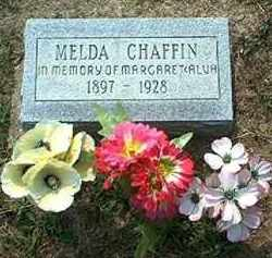 CHAFFIN, MELDA - Pike County, Ohio | MELDA CHAFFIN - Ohio Gravestone Photos