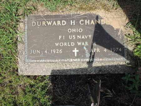 CHANDLER, DURWARD H. - Pike County, Ohio | DURWARD H. CHANDLER - Ohio Gravestone Photos