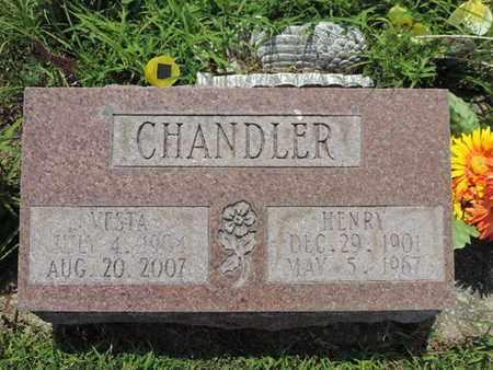 CHANDLER, VESTA - Pike County, Ohio   VESTA CHANDLER - Ohio Gravestone Photos