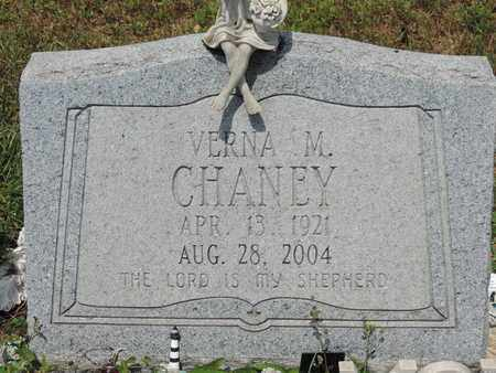 CHANEY, VERNA M. - Pike County, Ohio | VERNA M. CHANEY - Ohio Gravestone Photos