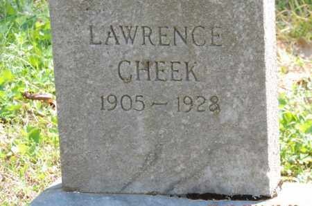 CHEEK, LAWRENCE - Pike County, Ohio | LAWRENCE CHEEK - Ohio Gravestone Photos