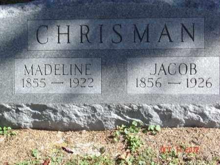 CHRISMAN, MADELINE - Pike County, Ohio | MADELINE CHRISMAN - Ohio Gravestone Photos