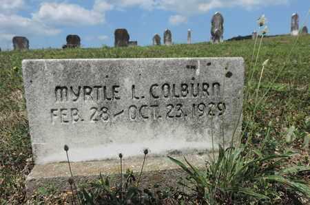 COLBURN, MYRTLE L. - Pike County, Ohio | MYRTLE L. COLBURN - Ohio Gravestone Photos