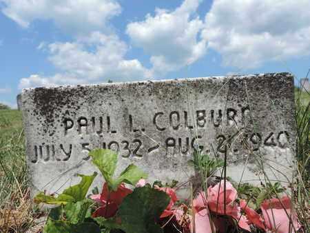 COLBURN, PAUL L. - Pike County, Ohio | PAUL L. COLBURN - Ohio Gravestone Photos