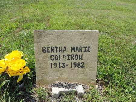 COLDIROW, BERTHA MARIE - Pike County, Ohio   BERTHA MARIE COLDIROW - Ohio Gravestone Photos