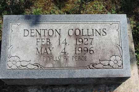 COLLINS, DENTON - Pike County, Ohio   DENTON COLLINS - Ohio Gravestone Photos