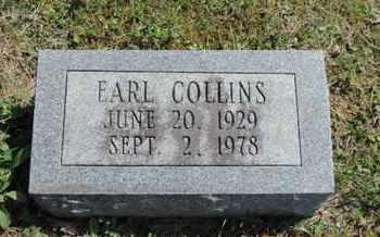 COLLINS, EARL - Pike County, Ohio | EARL COLLINS - Ohio Gravestone Photos
