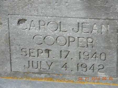 COOPER, CAROL JEAN - Pike County, Ohio   CAROL JEAN COOPER - Ohio Gravestone Photos