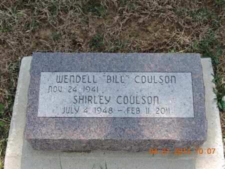 COULSON, WENDELL - Pike County, Ohio | WENDELL COULSON - Ohio Gravestone Photos
