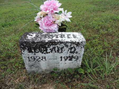 CRABTREE, BEULAH D. - Pike County, Ohio | BEULAH D. CRABTREE - Ohio Gravestone Photos