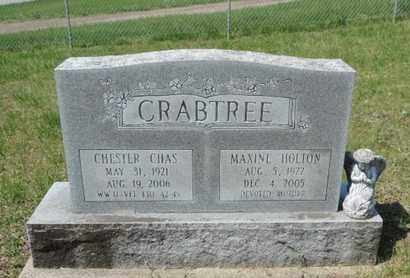 CRABTREE, CHESTER CHAS - Pike County, Ohio | CHESTER CHAS CRABTREE - Ohio Gravestone Photos