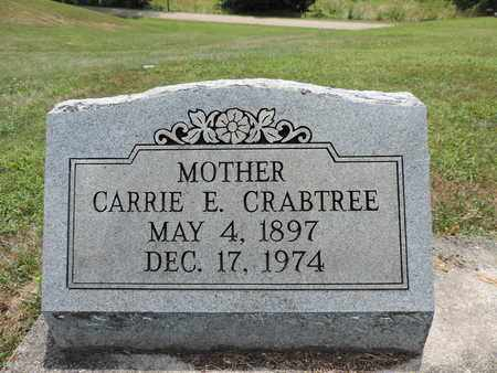 CRABTREE, CARRIE E. - Pike County, Ohio | CARRIE E. CRABTREE - Ohio Gravestone Photos