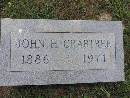 CRABTREE, JOHN H. - Pike County, Ohio | JOHN H. CRABTREE - Ohio Gravestone Photos