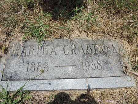 CRABTREE, MARTHA - Pike County, Ohio   MARTHA CRABTREE - Ohio Gravestone Photos