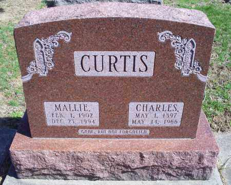 CURTIS, MALLIE - Pike County, Ohio | MALLIE CURTIS - Ohio Gravestone Photos